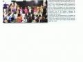tournee Adélaide dans le journal de la Province des Iles juillet 2014