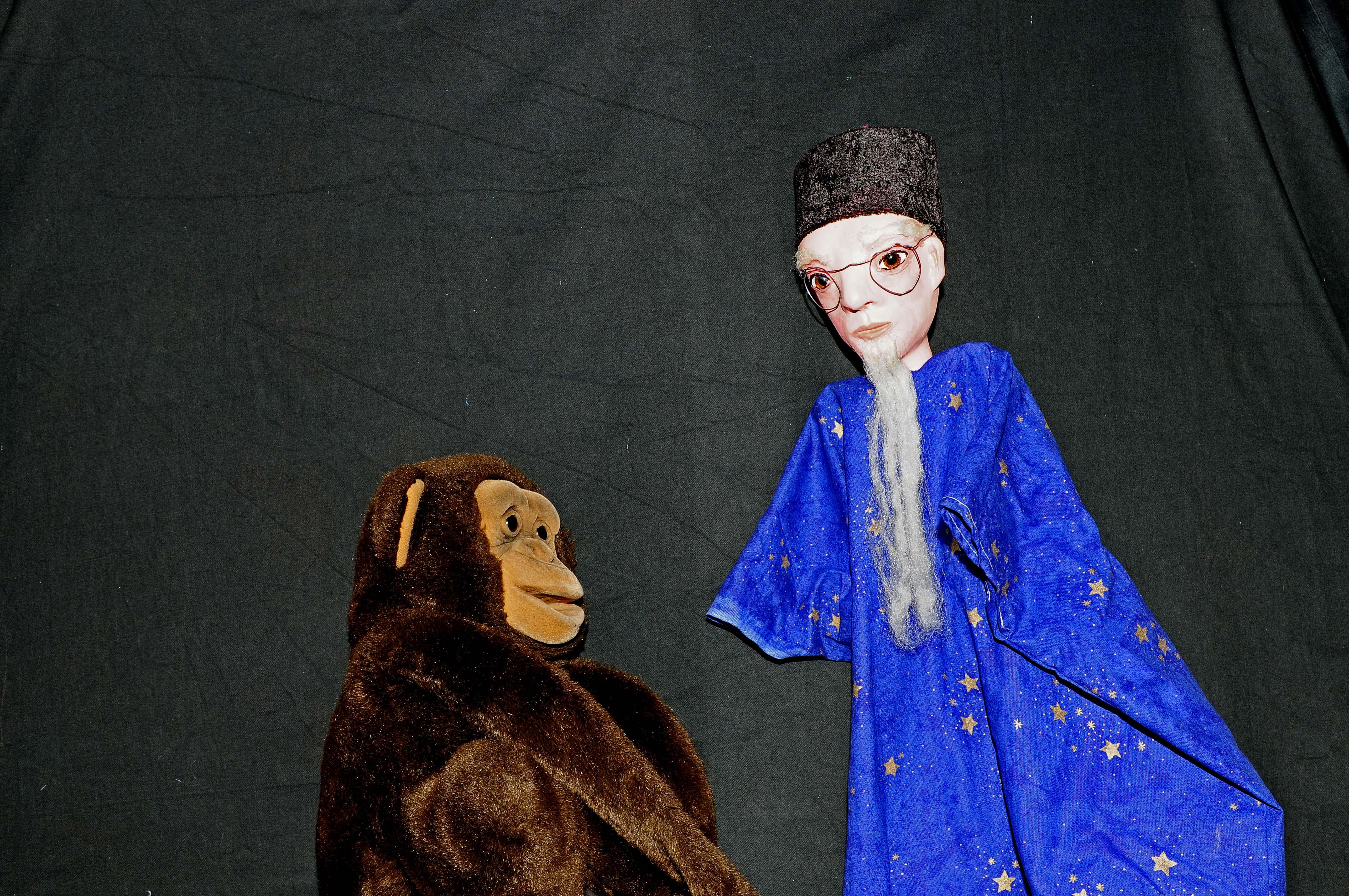 Coco et Gregoire le magicien