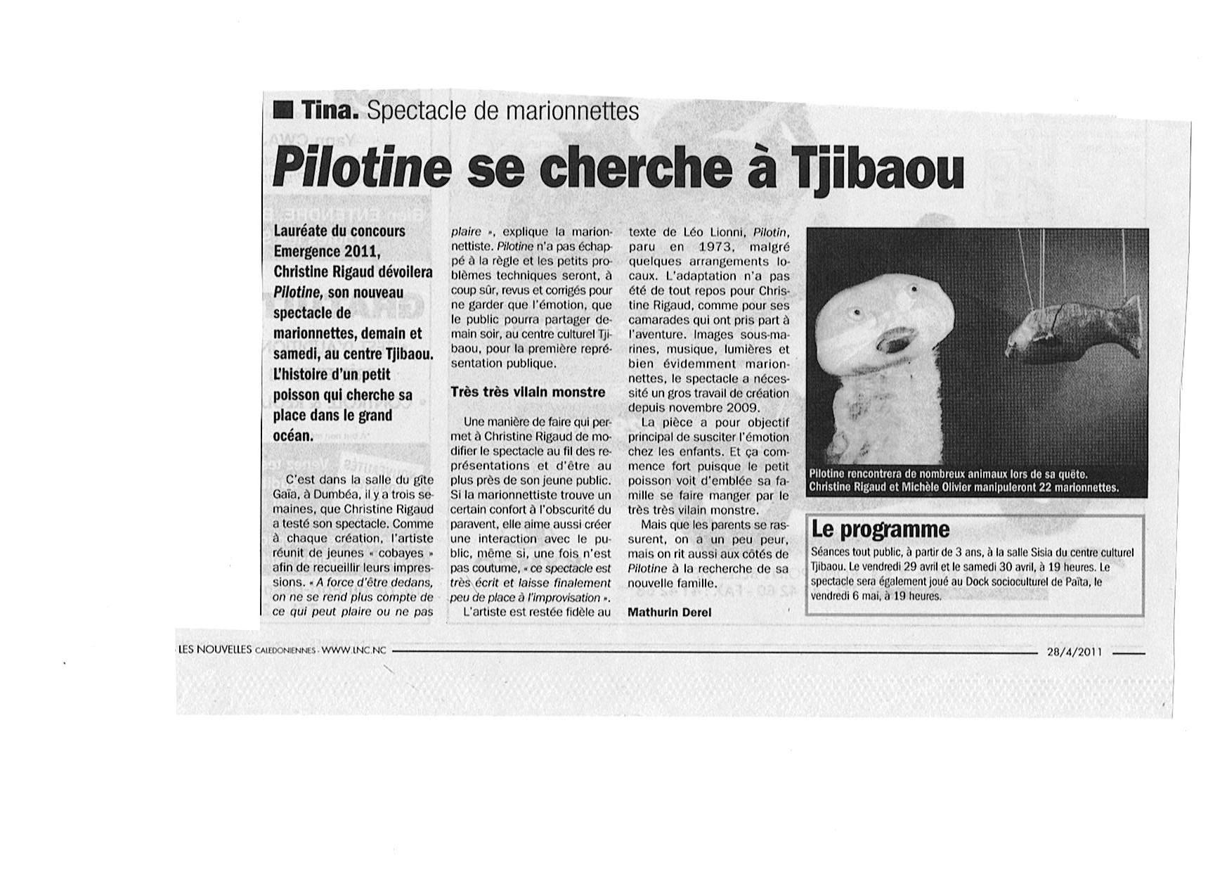 Pilotine LNC 28 avril