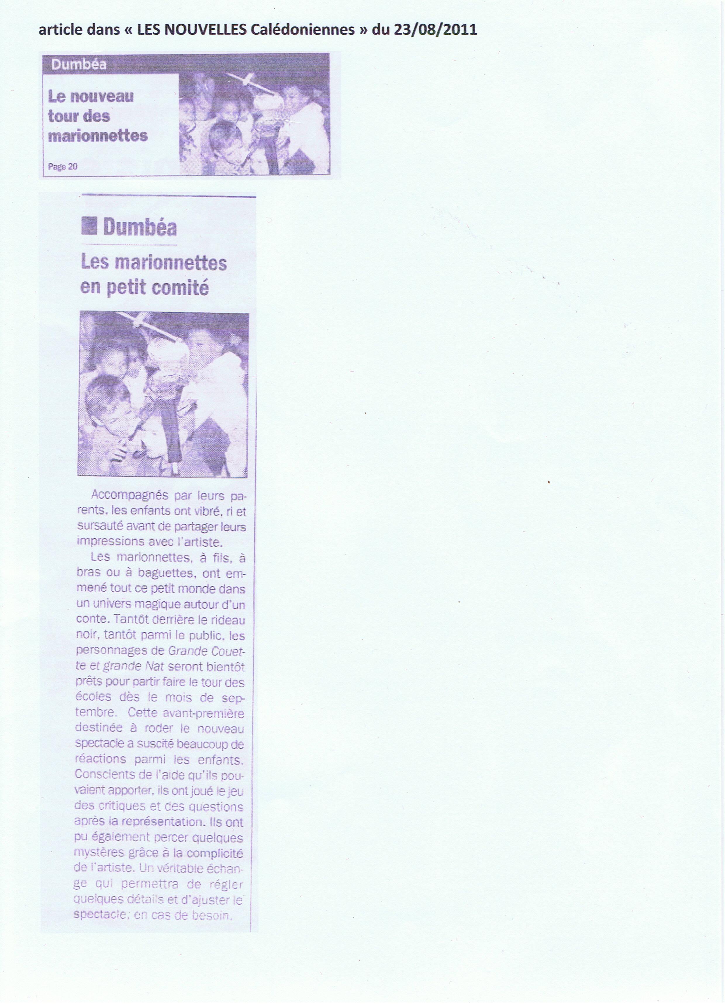 Grande Couette  LNC 23 août 2011